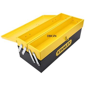 Thùng đồ nghề 3 ngăn bằng thép (466x 210x 170mm) stanley 94-192
