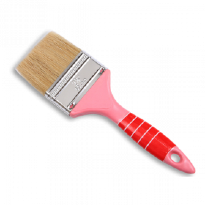 """Cọ cán nhựa màu hồng Thanh Bình 1NH40 4"""" (10 cm) 12 Cây"""
