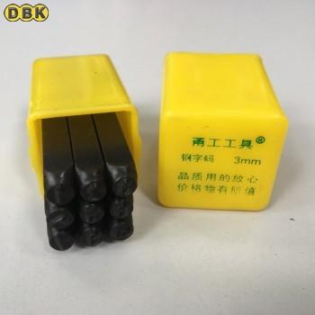 Bộ đóng số bằng thép thường 3 mm DI CHUANG