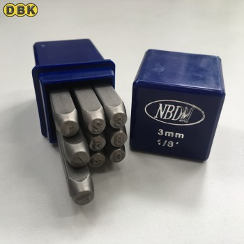 Bộ đóng số, chất liệu thép Mỹ 3 mm DI CHUANG