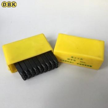 Bộ đóng chữ thép thường 3 mm DI CHUANG