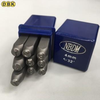 Bộ đóng số chất liệu thép Mỹ  4mm DI CHUANG