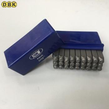 Bộ đóng chữ chất liệu thép Mỹ 4mm DI CHUANG