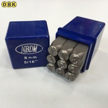 Bộ đóng số, chất liệu thép Mỹ 8 mm DI CHUANG