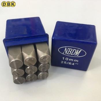 Bộ đóng số, chất liệu thép Mỹ 10 mm DI CHUANG