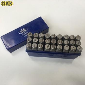 Bộ đóng chữ thép mỹ 12 mm DI CHUANG