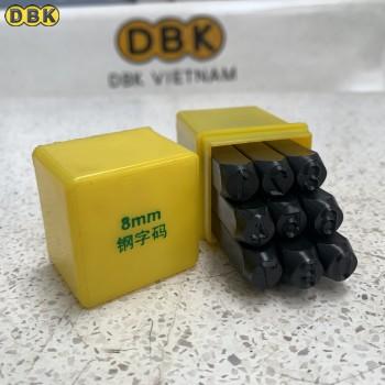 Bộ đóng số 8mm giá rẻ DBK DS-08