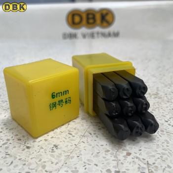 Bộ đóng số 6mm giá rẻ DBK DS-06