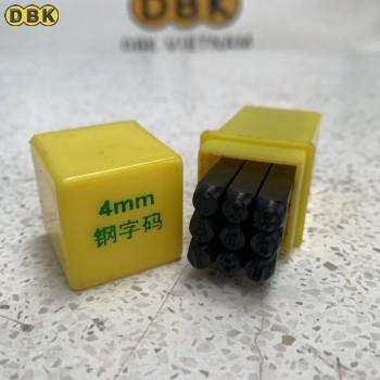 Bộ đóng số 4mm giá rẻ DBK DS-04