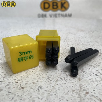 Bộ đóng số 3mm giá rẻ DBK DS-03