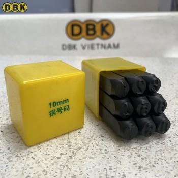 Bộ đóng số 10mm giá rẻ DBK DS-10