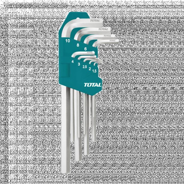 Bộ khóa lục giác 48/T Total THT106192 1.5-10 mm