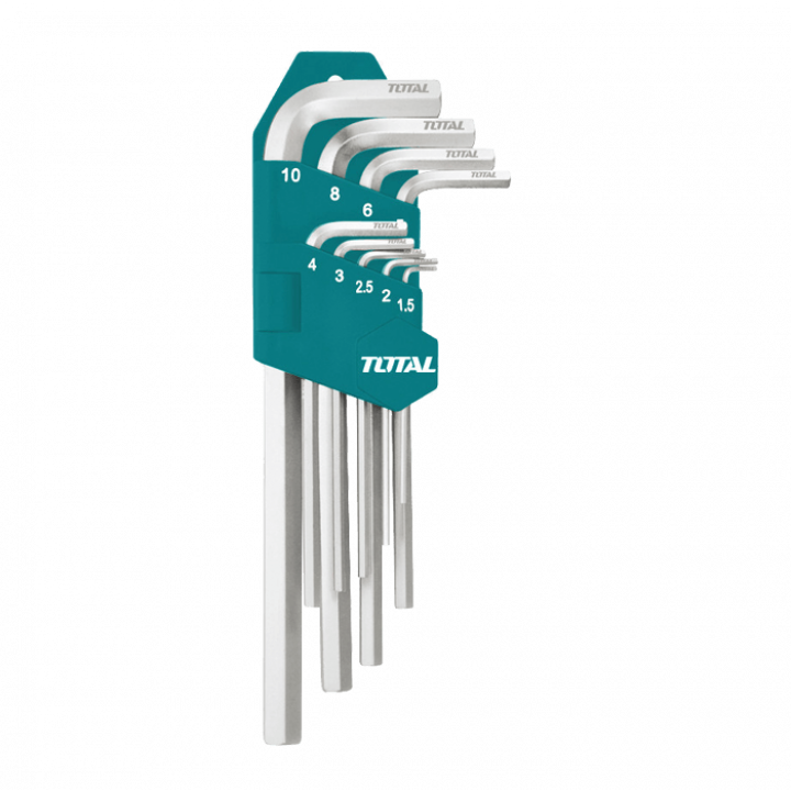 Bộ khóa lục giác 48/T Total THT106292 1.5-10 mm