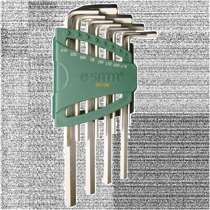 Bộ lục giác 12 chi tiết (hệ inch) SATA 09108
