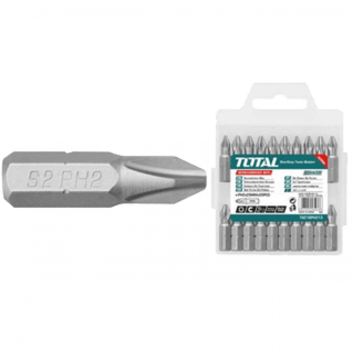 Mũi bắt vít vĩ nhựa Total TAC16PH213 25 mm