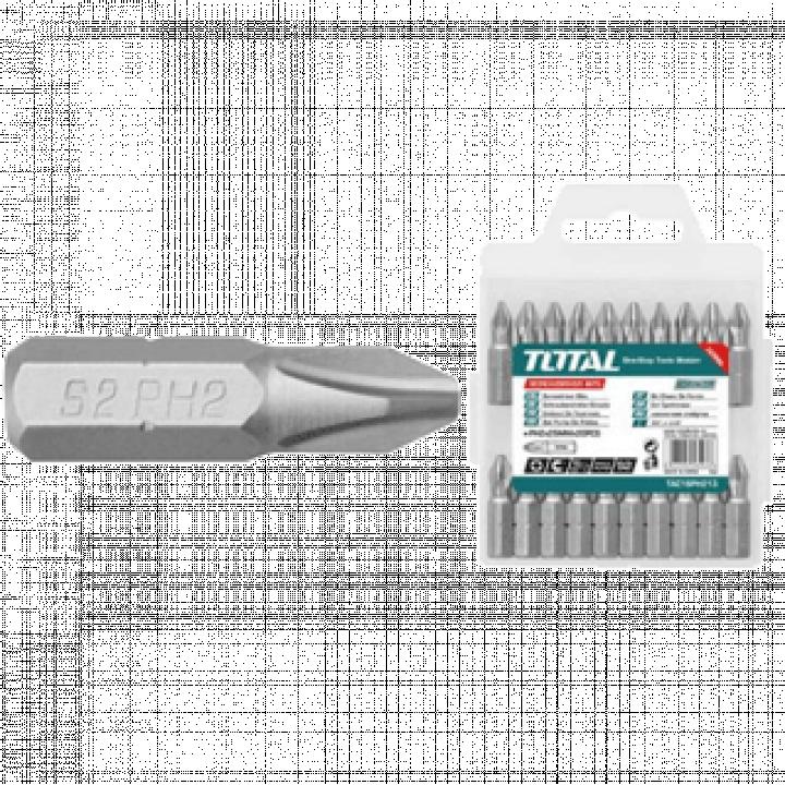 Mũi bắt vít vĩ nhựa Total TAC16PH223 50 mm