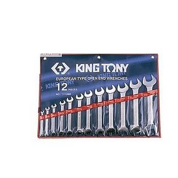 Bộ cờ lê 2 đầu miệng 12 chi tiết Kingtony 1112MR (6-32mm)