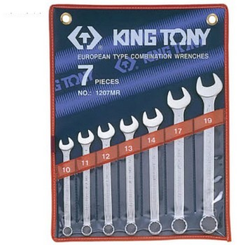 Bộ Cờ lê Kingtony 1207MR(10-19mm)
