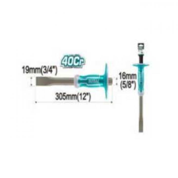 Đục sắt dẹp (24/T) Total THT4411216