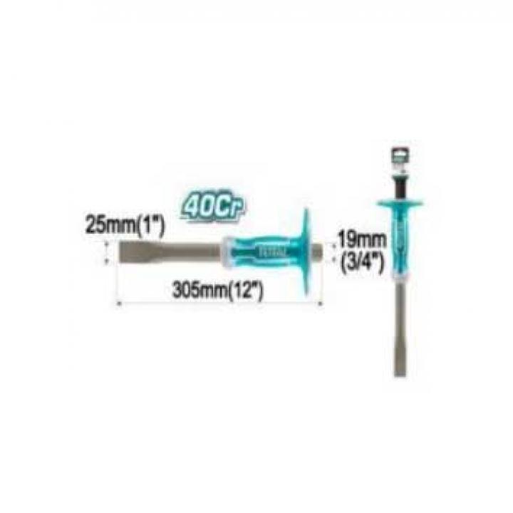 Đục sắt dẹp (24/T) Total THT4411219