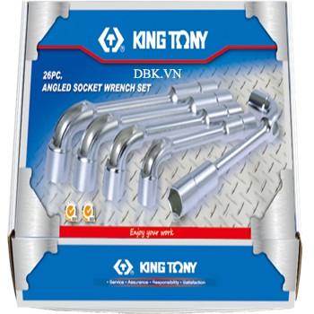 Bộ ống tuýp 26 chi tiết Kingtony 1826MR