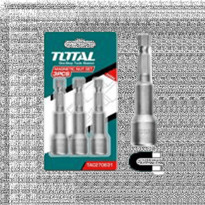 Bộ 3 mũi bắn tôn 100/T Total TAC271031 10 mm