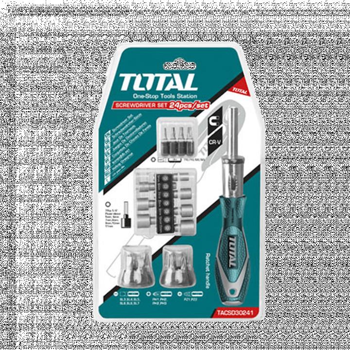 Bộ 24 tua vít Total TACSD30246