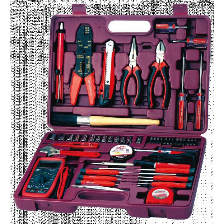 Bộ đồ nghề sửa điện gia đình 50 món Endura E1411