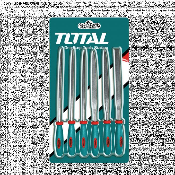 Bộ 6 Dũa sắt Total THT91462 140 mm