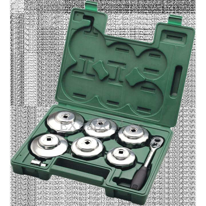 Bộ dụng cụ mở lọc dầu ôtô cần tự động 8 chi tiết Sata 09703