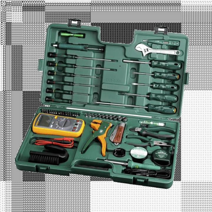 Bộ dụng cụ sửa chữa điện 53 chi tiết Sata 09535