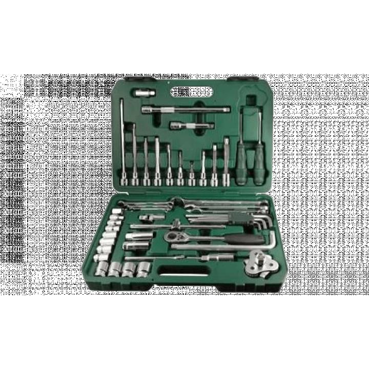 Bộ dụng cụ sửa chửa ô tô 48 chi tiết Sata 09508