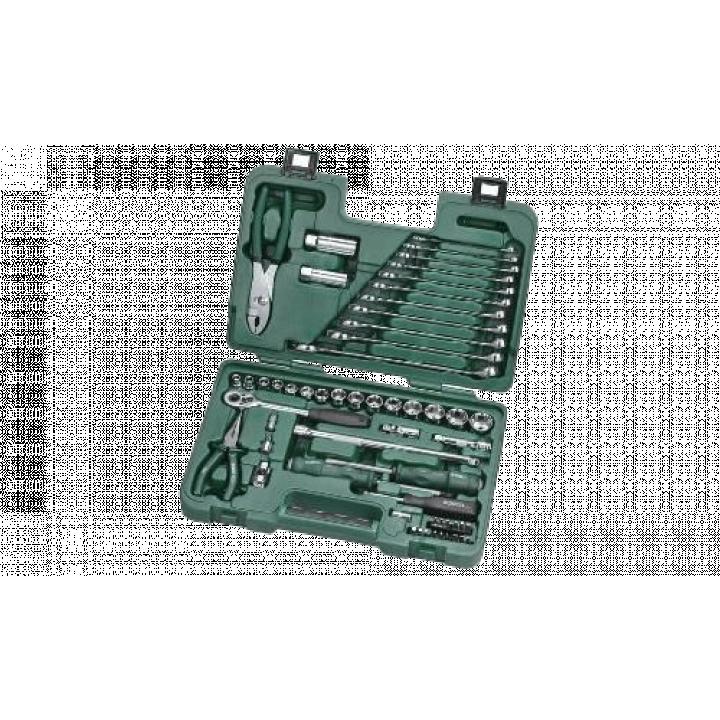 Bộ dụng cụ sửa chửa ô tô 56 chi tiết Sata 09509