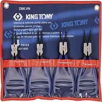 Bộ kìm mở phe 4 chi tiết Kingtony 42114GP