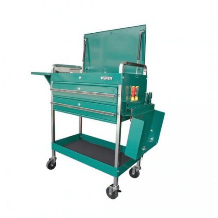 Tủ đồ nghề 2 ngăn 1 hộc 960 x 560 x 570 mm Sata 95118