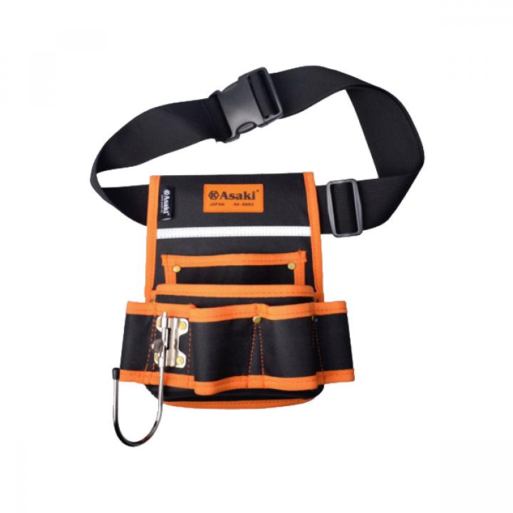 Túi đeo thắt lưng đựng đồ nghề cao cấp Asaki AK-9985