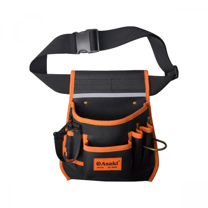 Túi đeo thắt lưng đựng đồ nghề cao cấp Asaki AK-9986