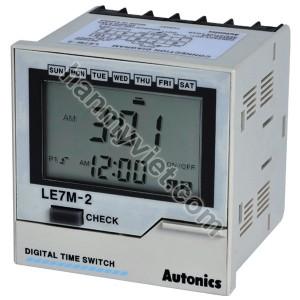 Bộ cài đặt thời gian Tuần/Năm Autonics LE7M-2