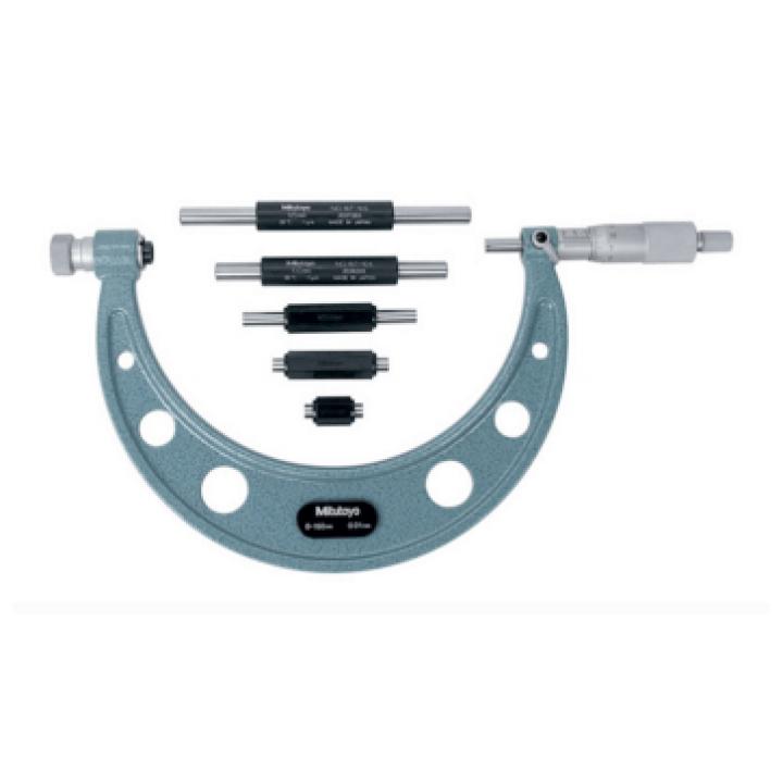 Panme đo ngoài cơ Mitutoyo 104-145A