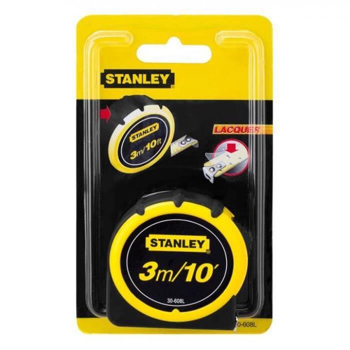Thước cuộn thép Stanley 30-608L 3m