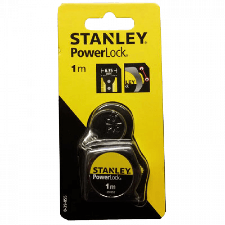 Thước cuốn thép Stanley 39-055 1m POWERLOCK (new)