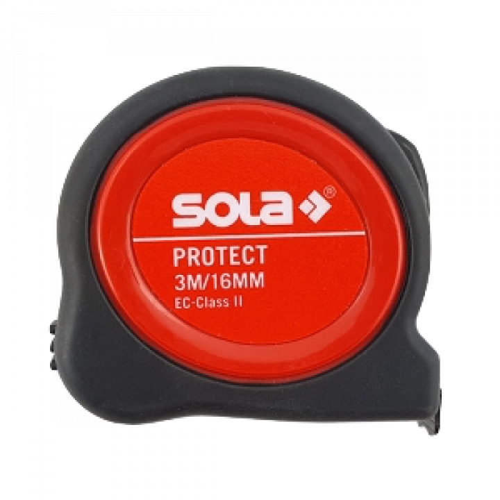 Thước thép cuộn ngắn Sola PE 3 ME - SB 3m