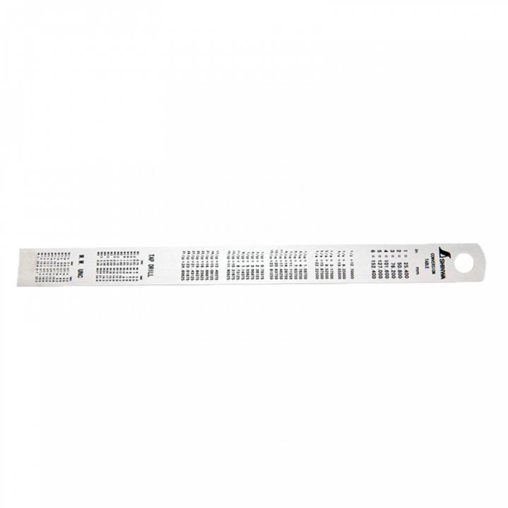 Thước lá inox Shinwa 14001 S101A 15cm