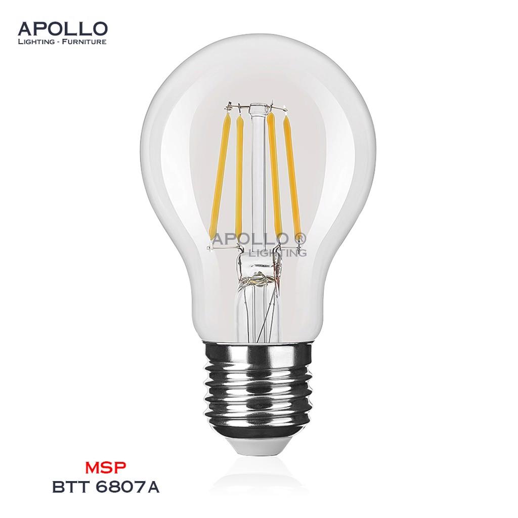Bóng LED A60 trang trí giả sợi tóc BTT 6807A