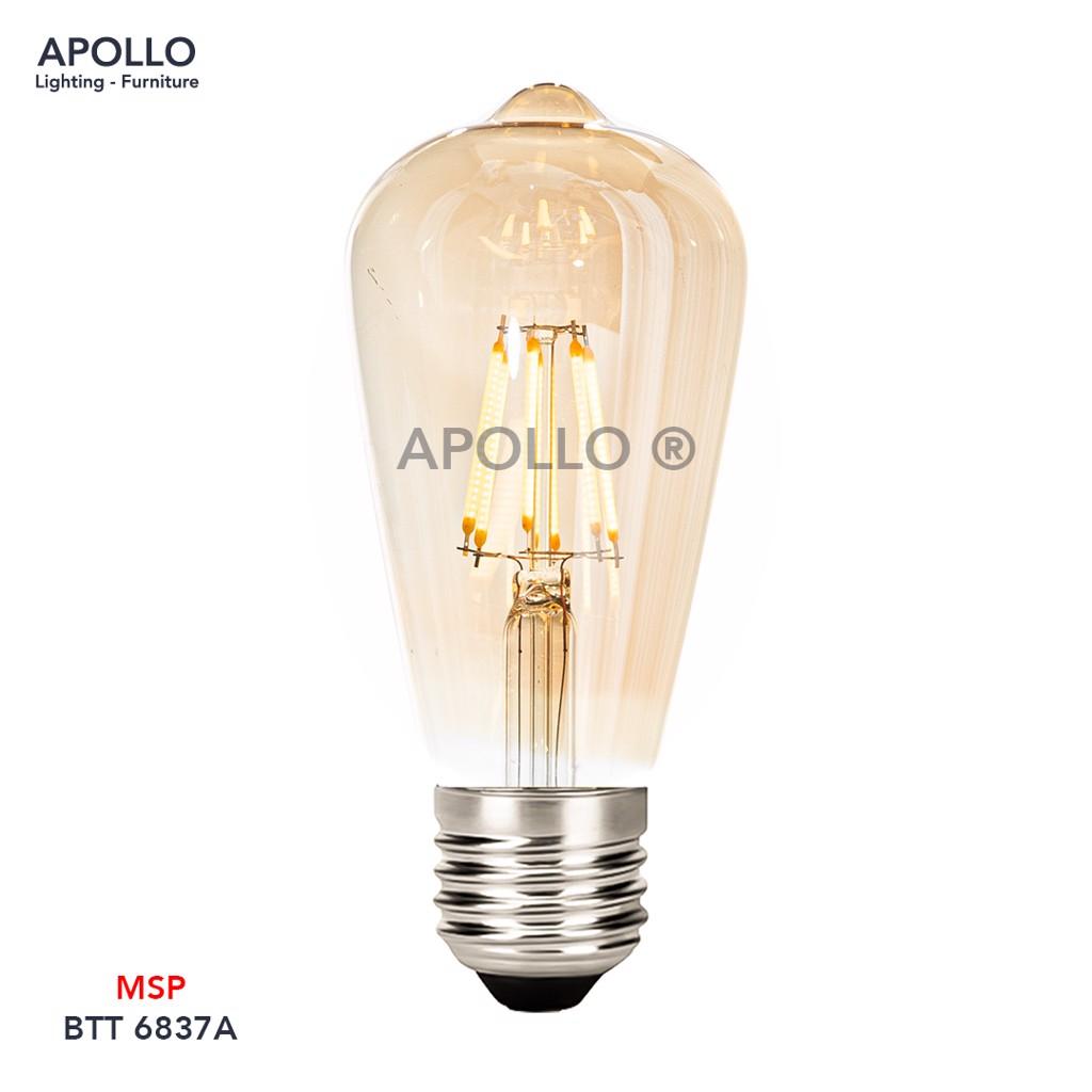 Bóng LED ST64 tráng thủy BTT 6837A
