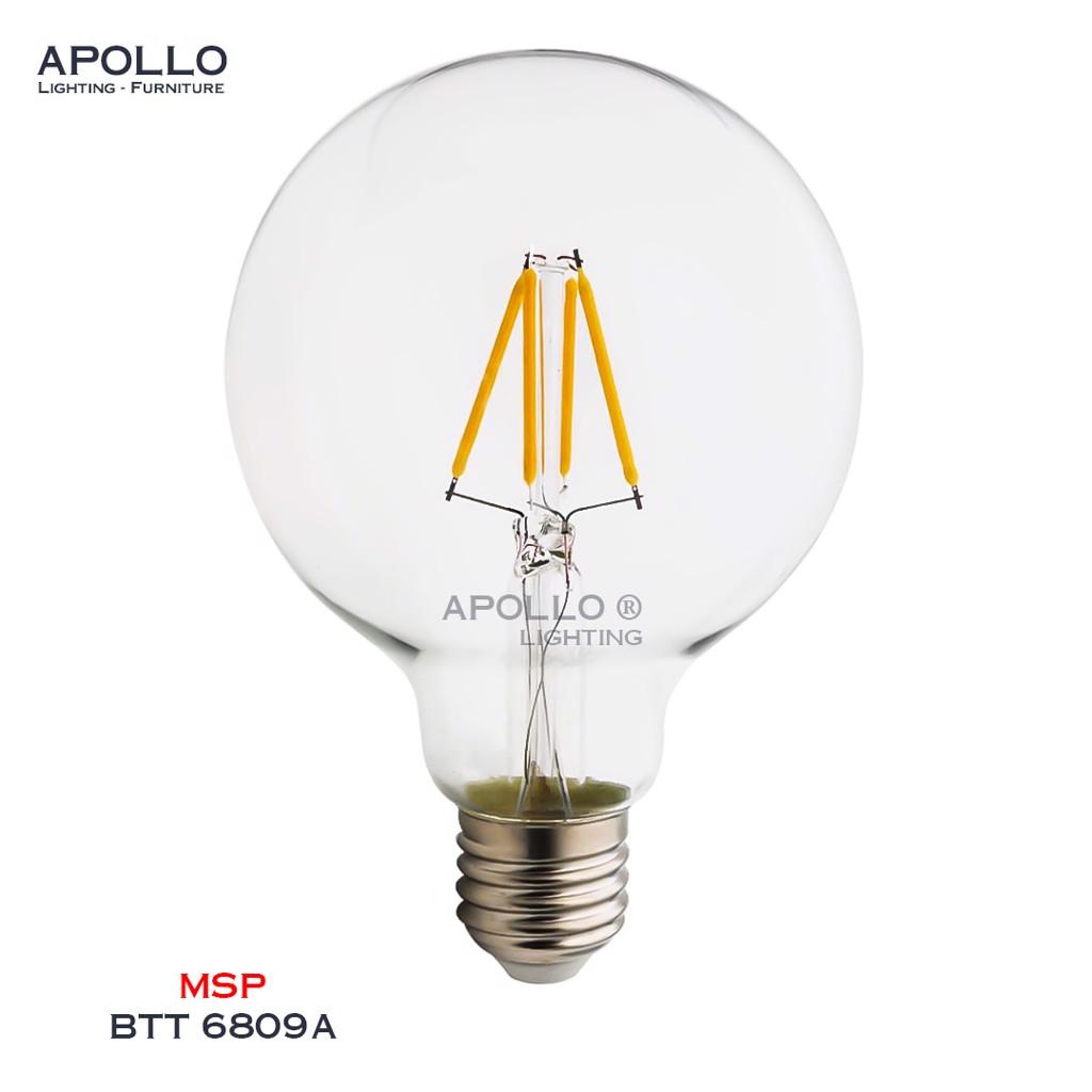 Bóng LED G95 giả sợi tóc BTT 6809A