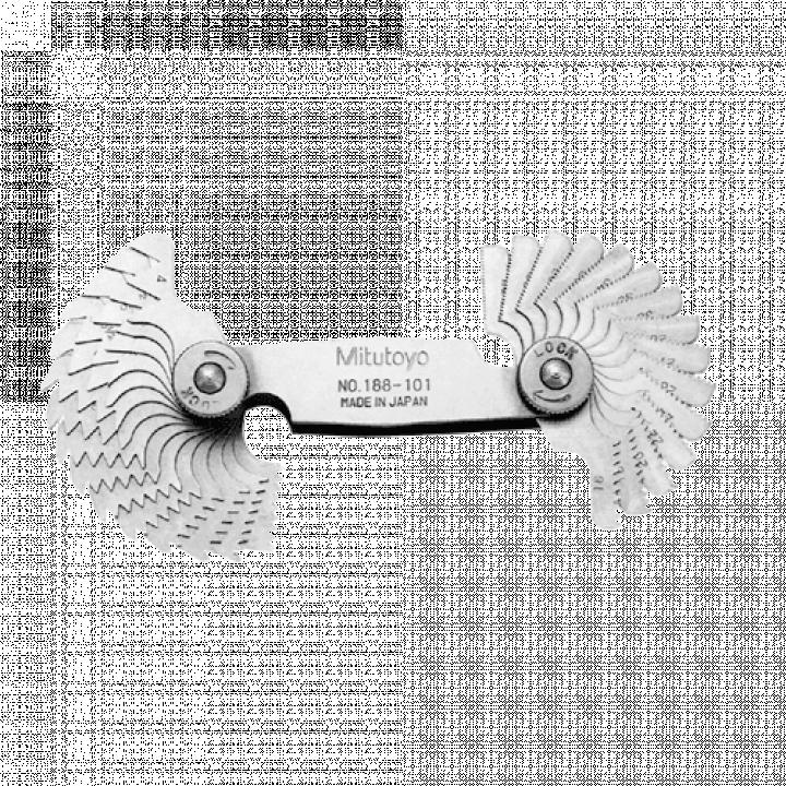 Bộ dưỡng đo ren 4-42TPI (30 lá) Mitutoyo 188-101