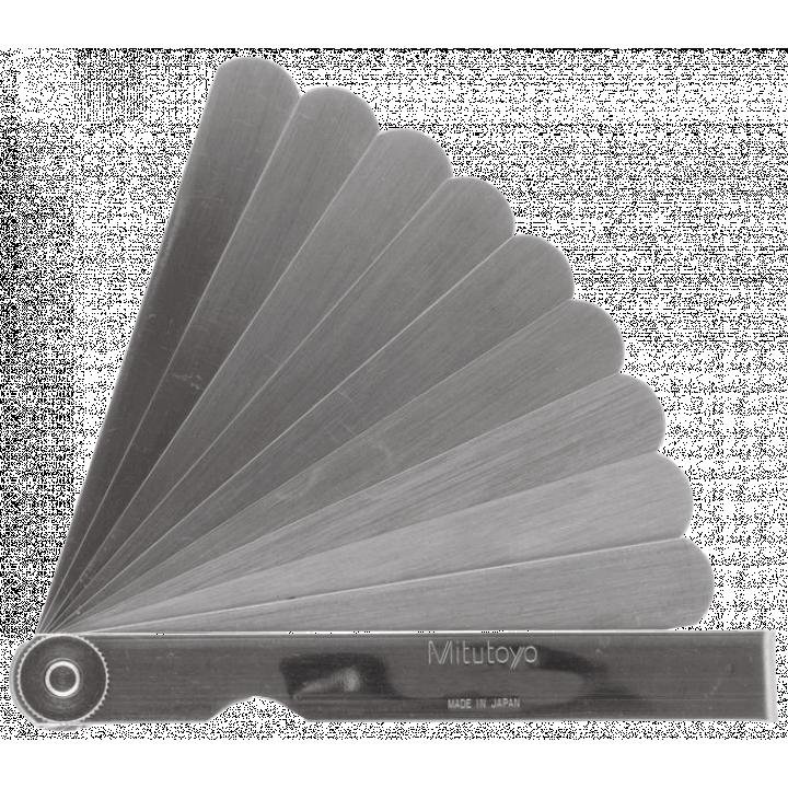 Bộ đo dưỡng bề dày 0,05 - 0,8 mm/10 lá/150 mm Mitutoyo 184-308S