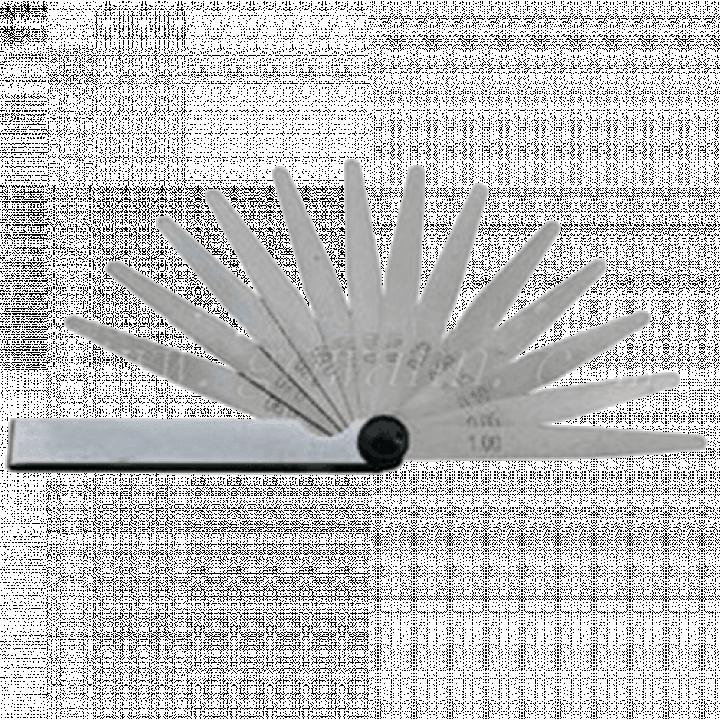 Bộ đo dưỡng bề dày 0.05-1 mm/13 lá/150 mm Mitutoyo 184-301S