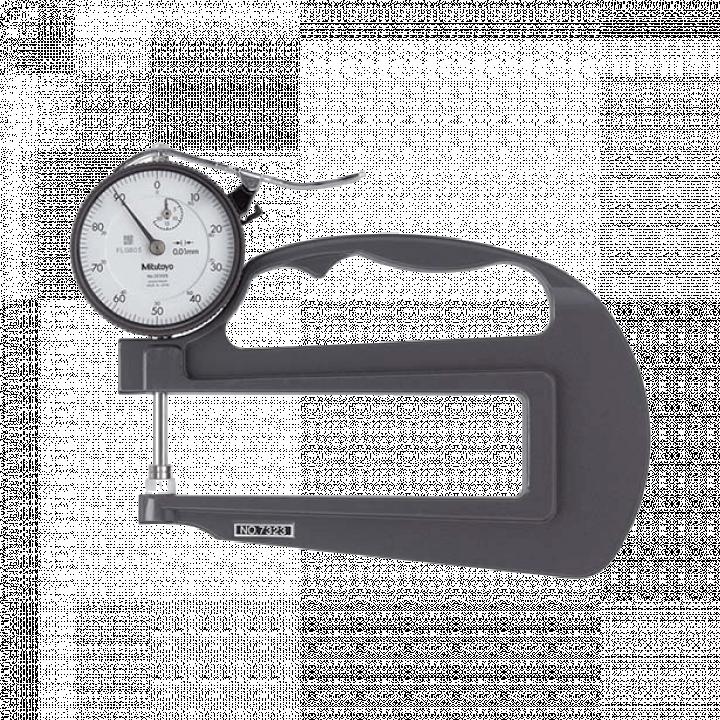 Đồng hồ đo độ dày 0-20mm x 0.01 Mitutoyo 7323